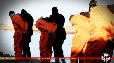 ISIL pogubljenja