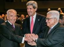 Peres - Abu Mazen i Kary
