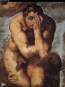 Sikstina - Strašni sud - Michelangelo-Buonarroti